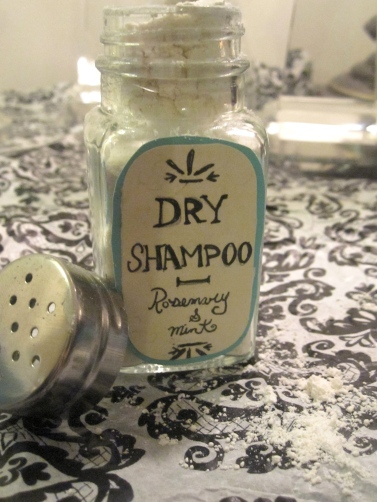 Rosemary & Mint Dry Shampoo