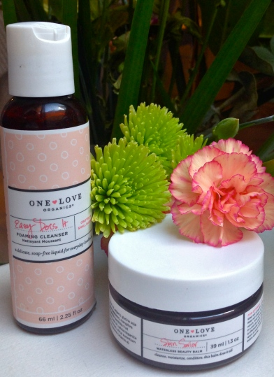 One Love Organics Easy Does it Foaming Cleanser and Skin Saviour Waterless Beauty Balm
