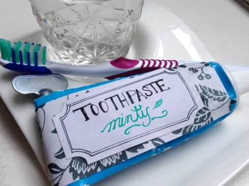 DIY Minty Toothpaste