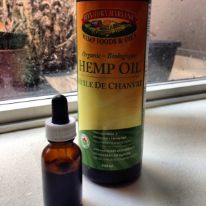 Hemp Oil has a comedongenic rating of '0' so it will not clog pores. I put some in a dropper bootle for ea